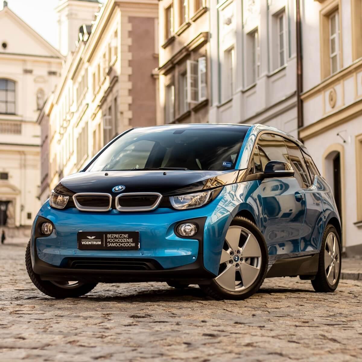 BMW i3 - wynajem Warszawa