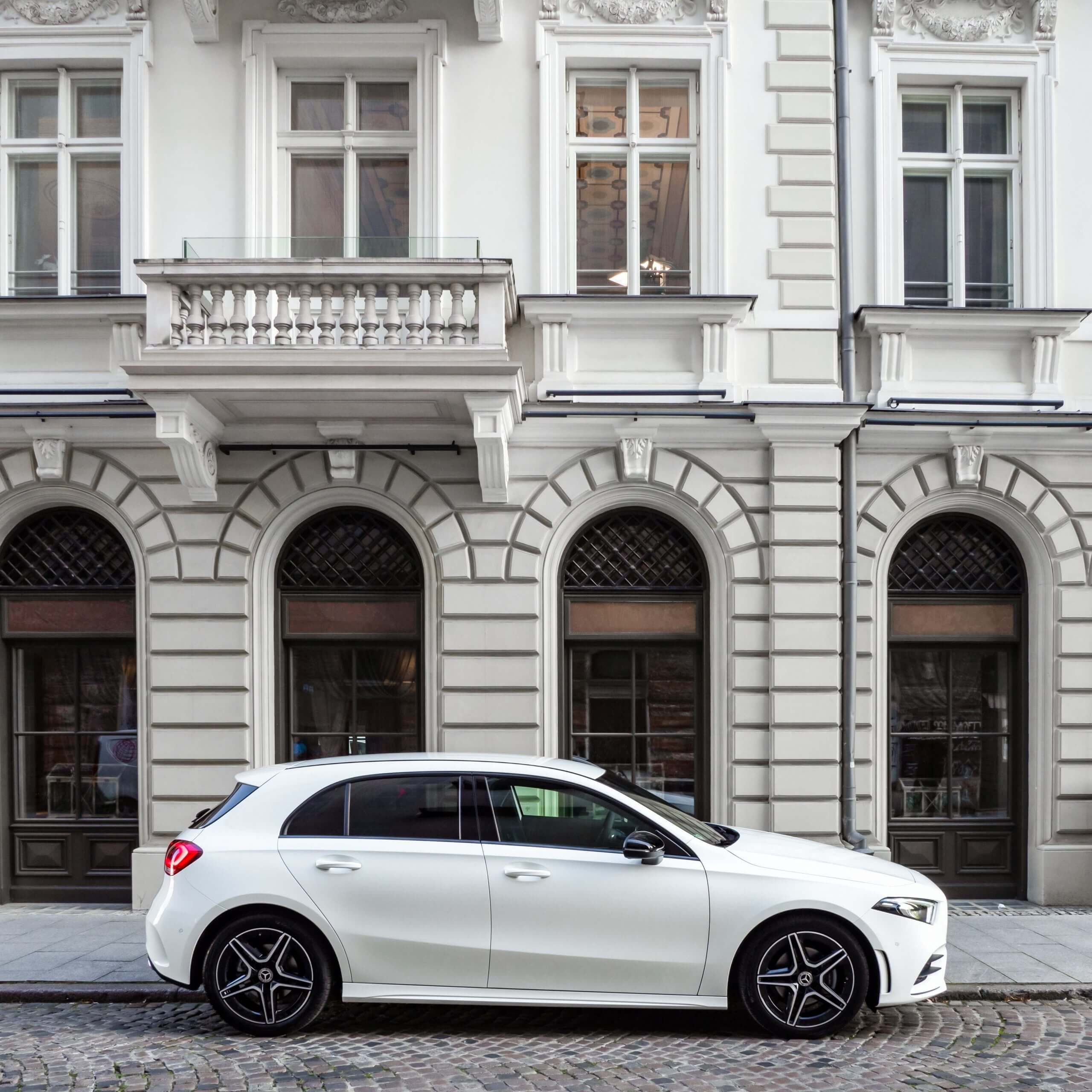 Mercedes Benz A - wynajem Warszawa