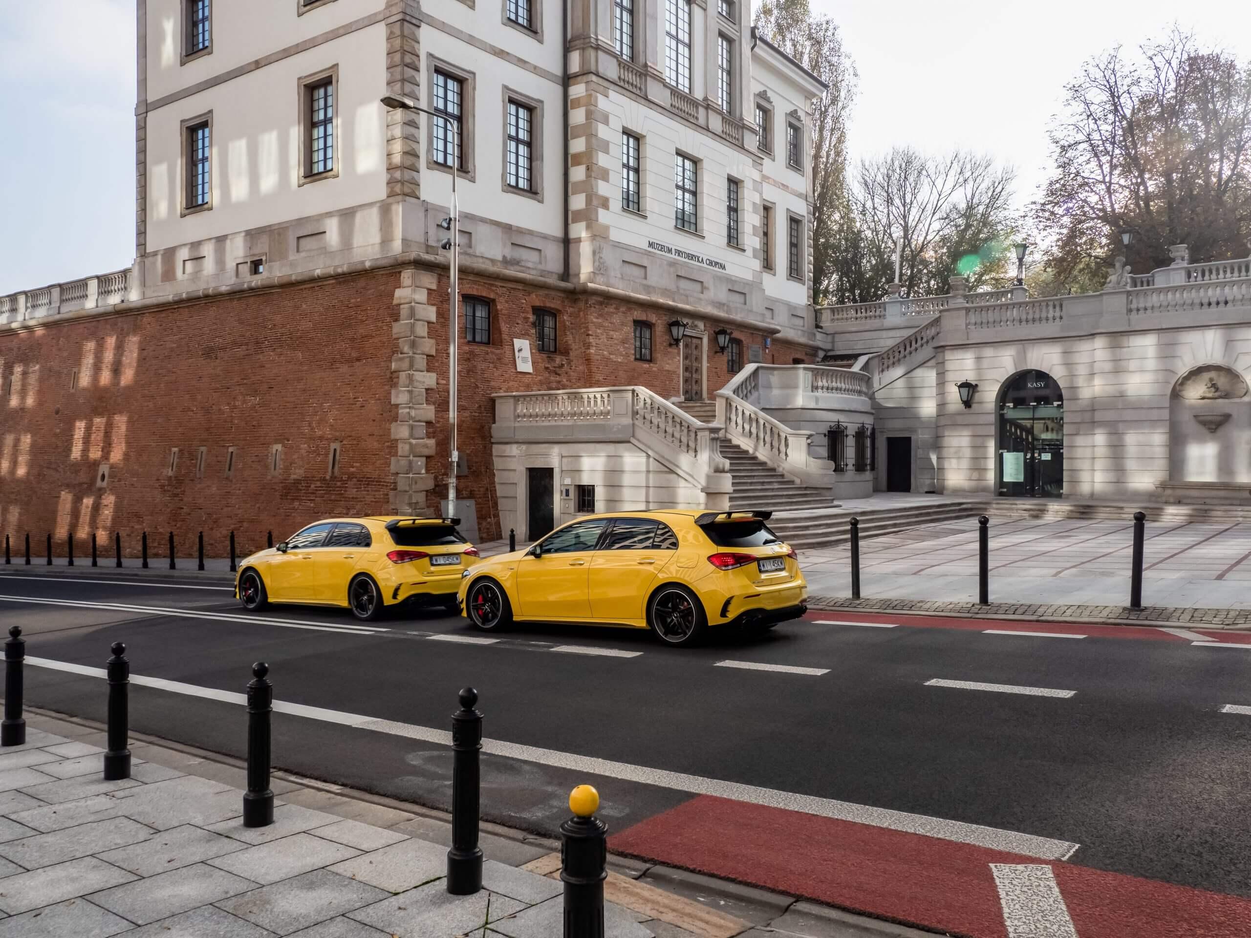 oferujemy wynajem samochodów premium w Warszawie