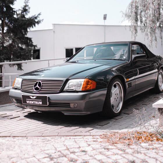 Mercedes SL – wymarzone cabrio