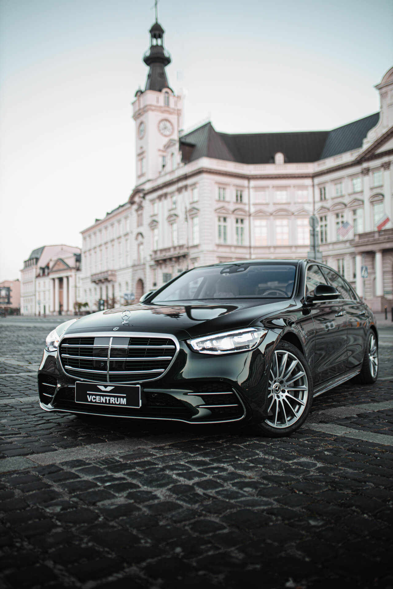 Mercedes-Benz S400d - wynajem Warszawa